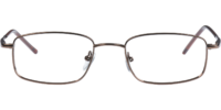 Front view of Bedford eyeglass frames