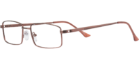 Side view of Mateo designer eyeglass frames