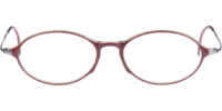 Front view of Harley eyeglass frames Harley