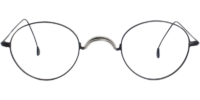 Front view of Parker eyeglass frames