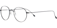 Side view of Bradenton designer eyeglass frames