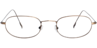 Front view of Douglas eyeglass frames