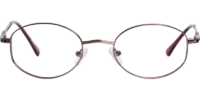 Front view of Simon eyeglass frames