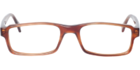 Front view of Clifton eyeglass frames